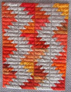 Firestorm Free Scrap Bag Needlepoint