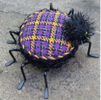 Halloween Plaid Spider Free Project