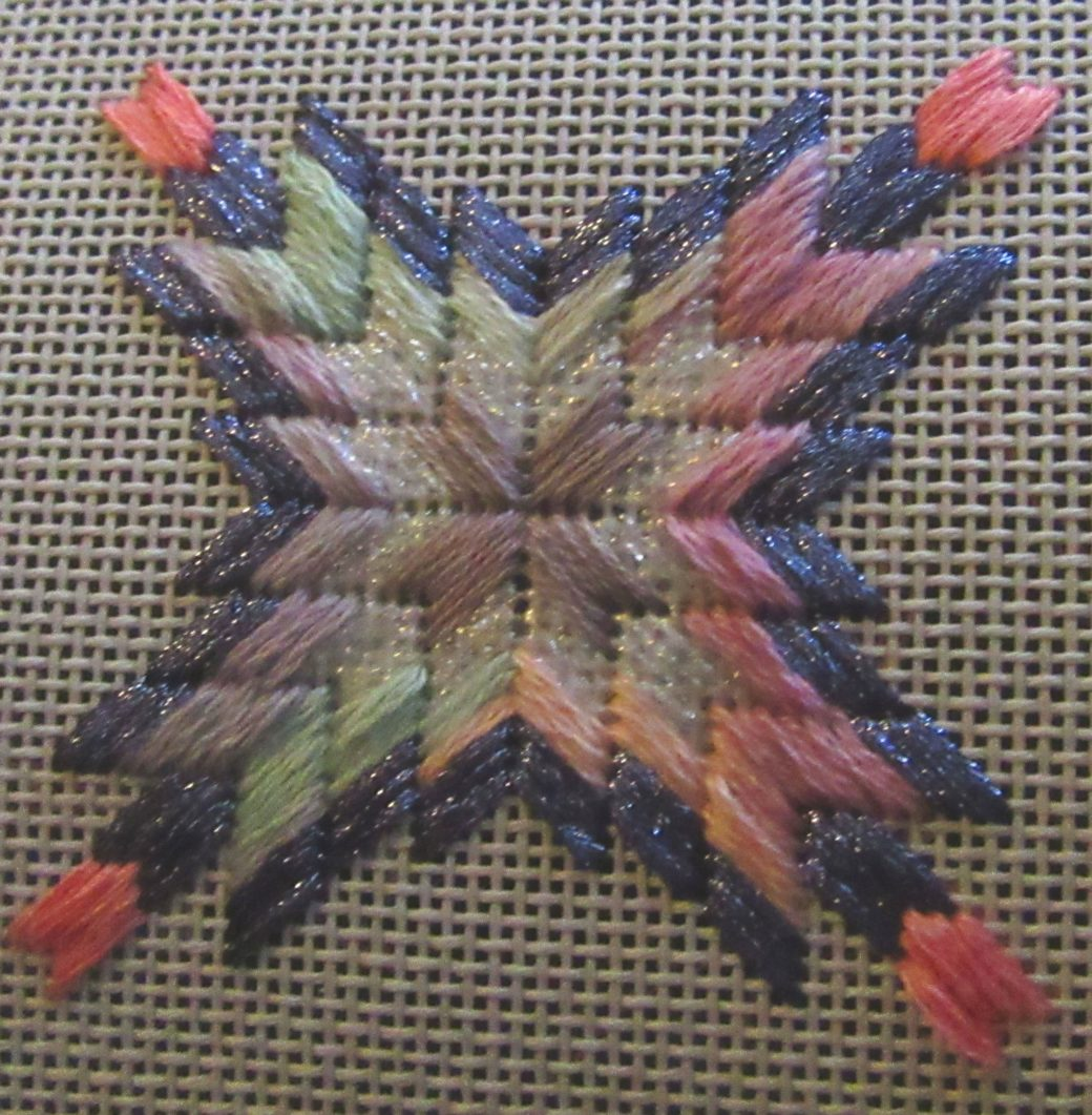 Barn Quilt Star Free Needlepoint Stash Project Nuts About Needlepoint