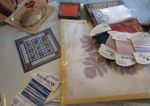 Items from a guild auction