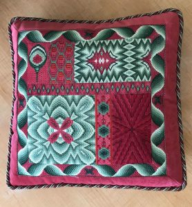 Bargello Sampler Pillow