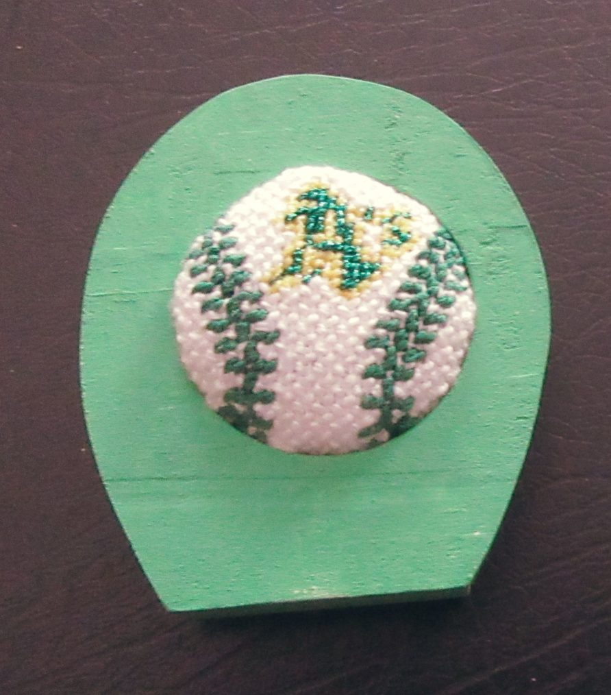 How to Cover Rounds with Needlepoint - Nuts about Needlepoint