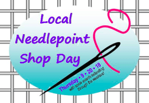 September Brings Local Needlepoint Shop Day