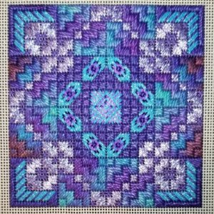 geometric needlepoint