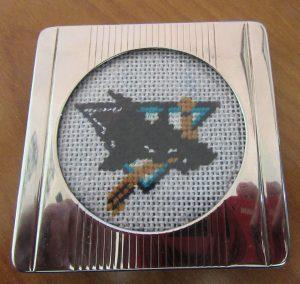 San Jose Sharks needlepoint