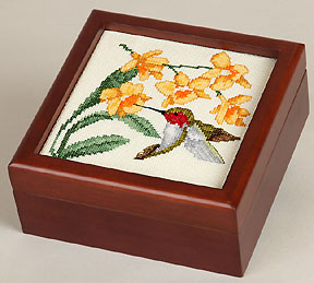 5x5 wood box to finish needlework from Sudberry