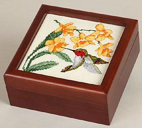 5x5 wood box to finish needlework from Sudberry