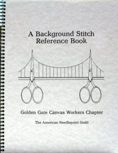background stitch refereence book cover