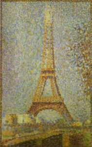 Eiffel Tower by Georges Seurat