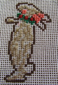 Tricia lowenfield needlepoint nativity rabbit