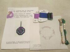 Davivd McCaskill 12 days for stitchers needlepoint canvas