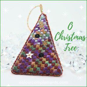 free Christmas Tree needlepoint project