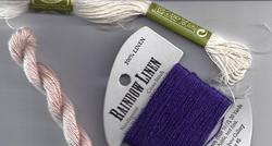 linen threads for needlepoint