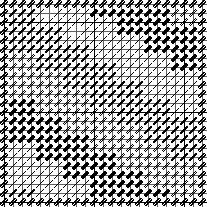 Amish Bricks needlepoint chart
