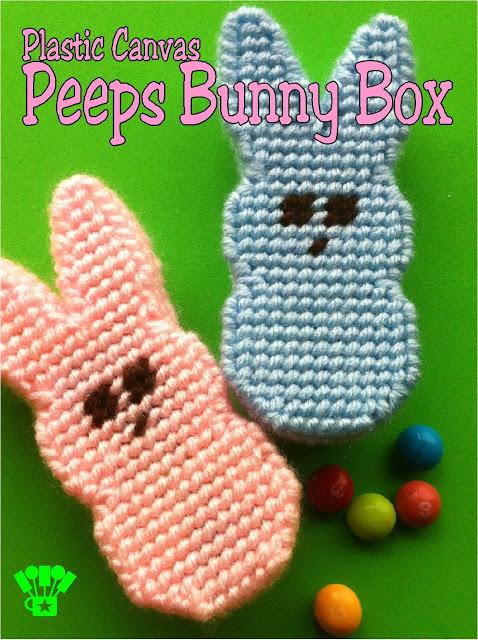 Plastic Canvas Peeps Bunny