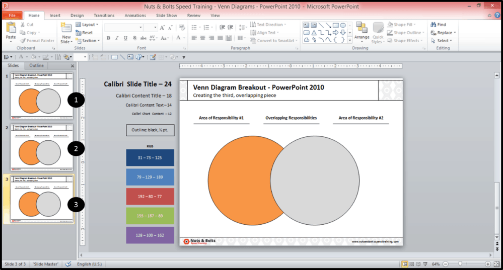 medium resolution of creating the middle piece of a venn diagram in powerpoint 2010