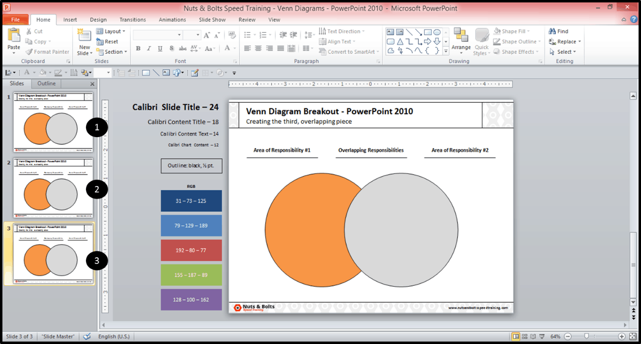 hight resolution of creating the middle piece of a venn diagram in powerpoint 2010