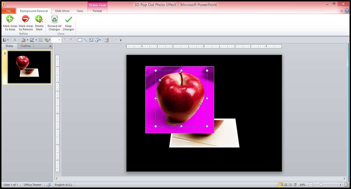 Powerpoint 3d Picture Popout Trick Part 3 Step #1b Nuts & Bolts Speed  Training For How To Embed A Youtube Video In Powerpoint 2013 Youtube
