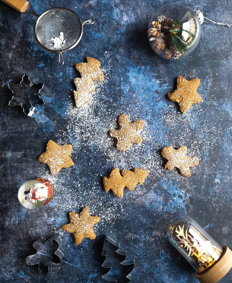 photo d'illustration de la recette de Sablés de Noël vegan