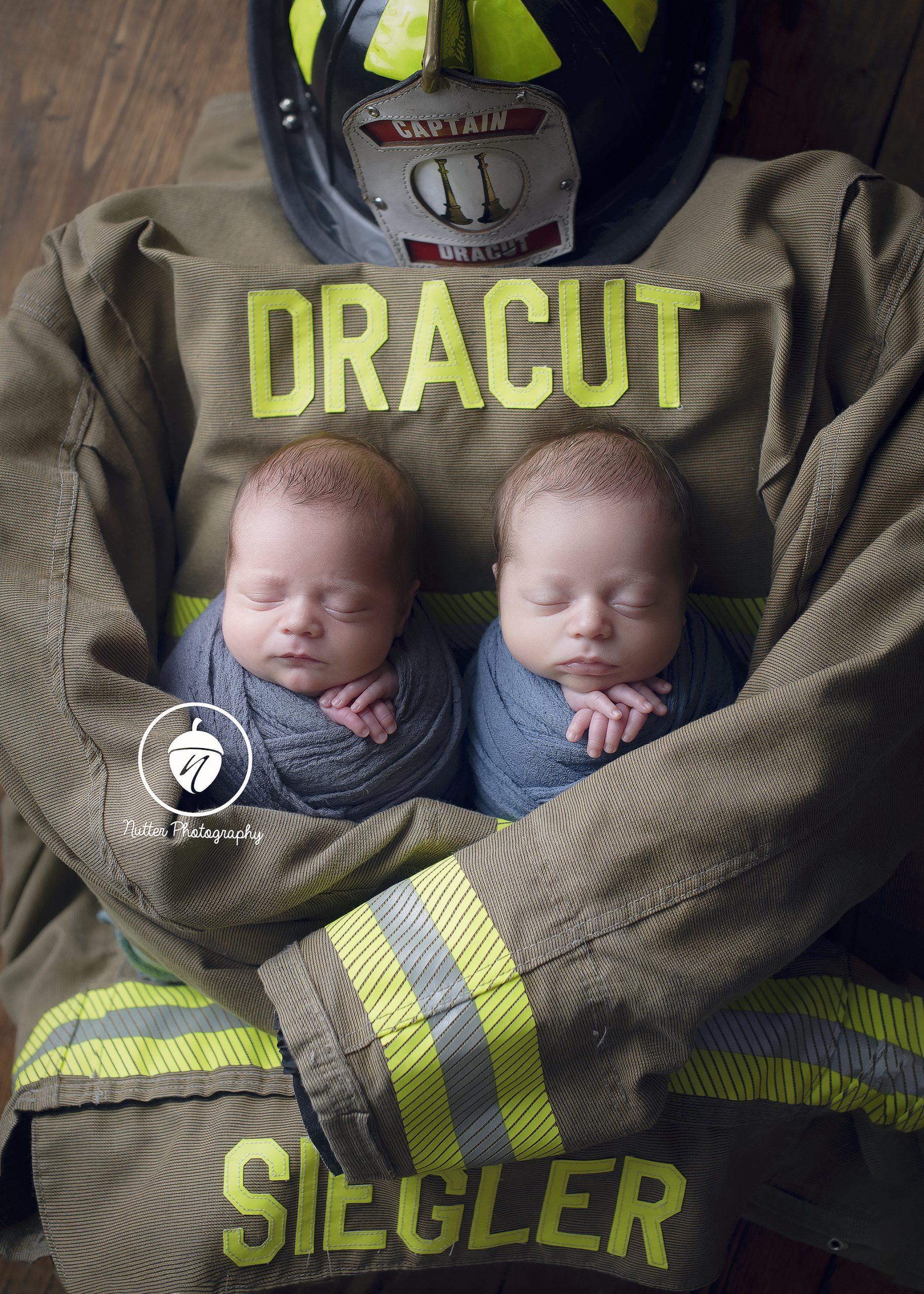 Twin firefighter