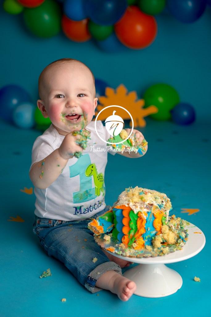 one year cake smash