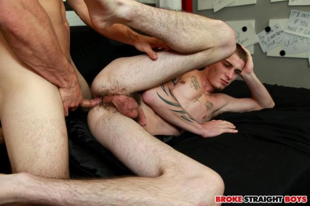 Straight Young Guy Takes His First Cock Up The Ass For Cash