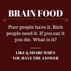 Brain Food Tuesday 4-26-2016