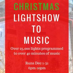 2016 Christmas Light Show to Music | Harker Heights / Fort Hood, Texas