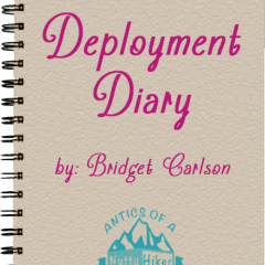 Starting a Deployment Diary; Preparing for deployment