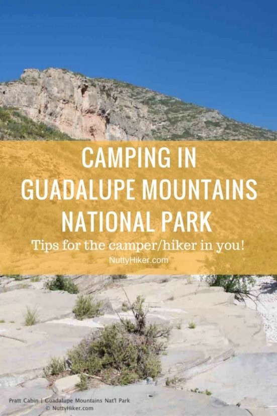 Guadalupe Mountains National Park is a must see for hikers and campers. Get the 411 before going and see why it should be added to your bucket list!