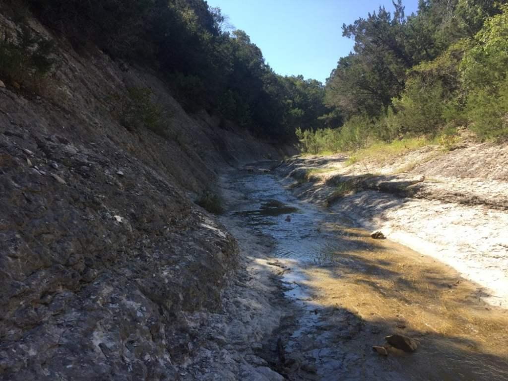 Chalk Ridge Falls Creek Bed