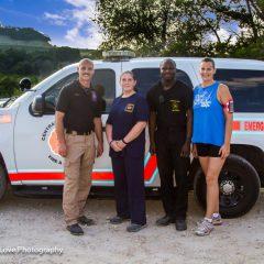Hiking with CBCFR Firefighters & KWTX Ch. 10