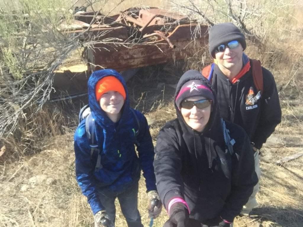 Hiking Jan 8, 2017 at Dana Peak Park