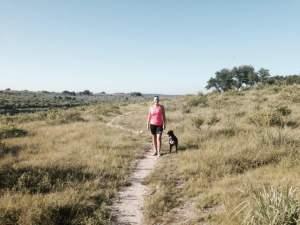 Hiking with Coco July 10 2014 at Dana Peak Park