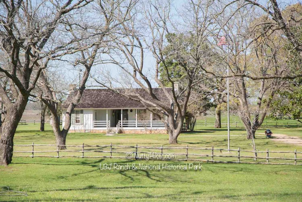 LBJ Ranch near Stonewall, Texas is now a national park that you can visit and tour.