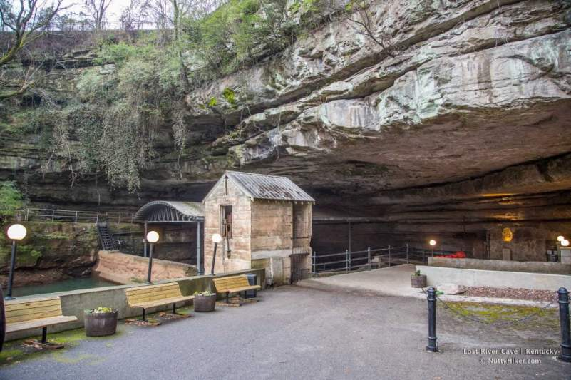 Lost River Cave in Kentucky opening.