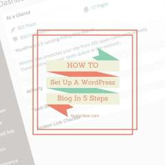 How To Set Up A WordPress Blog In 5 Easy Steps!