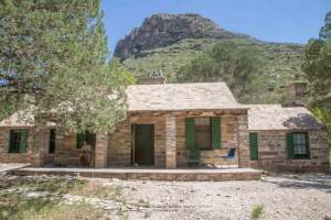 Pratt Cabin at Guadalupe Mountain National Park in Texas is worth the visit and worth the hike!