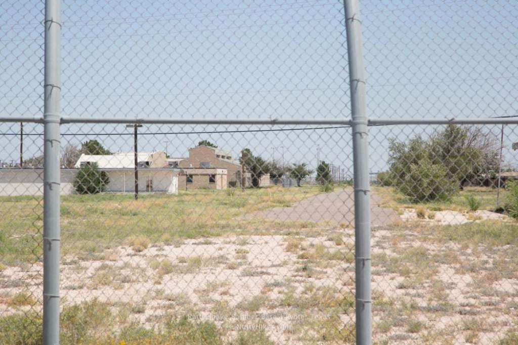 Rattlesnake Bomber Base in Pyote Texas is the old Pyote Army Air Force Base that once stored the bomber that dropped the first bomb on Hiroshima