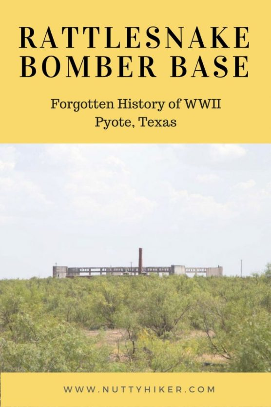 Rattlesnake Bomber Base outside of Pyote, Texas is an old forgotten WWII base that was abandoned several decades ago
