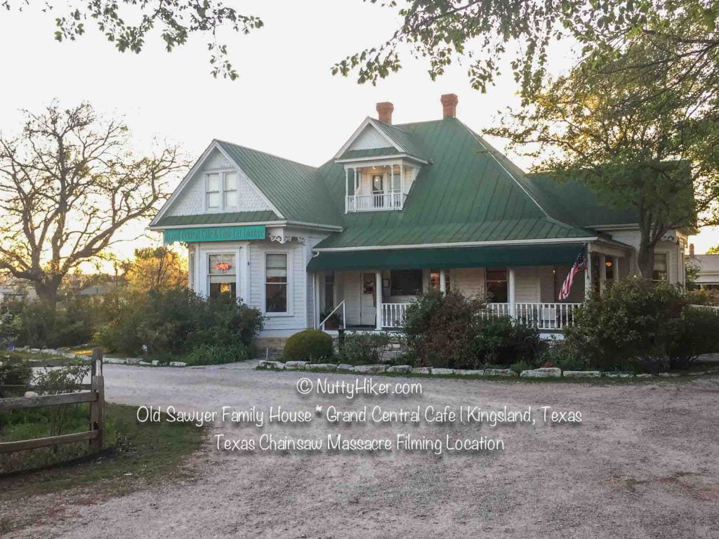 Old Sawyer Family House now Grand Central Cafe. Filming location of the original Texas Chainsaw Massacre