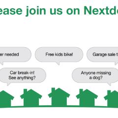 Using your Nextdoor Community to meet new friends