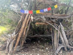 Some kind of shrine at Dana Peak Park in Harker Heights Texas near Fort Hood picture