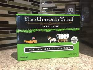 The Oregon Trail Card Game now at Target