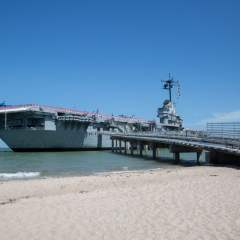 USS Lexington Floating Museum aka The Blue Ghost in Corpus Christi