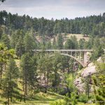 Beaver Creek Bridge in Wind Cave National Park, South Dakota