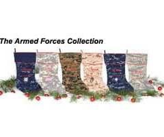 Camosock Military Theme Christmas Stockings