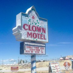 Clown Motel and Tonopah Cemetery, Nevada