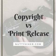 Copyright vs Print Release. Why You Don't Need the Copyright!