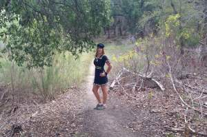 Hiking as a Sailor Sweetheart. Day 3. Dana Peak Park near Fort Hood Texas